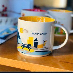 Starbucks 'You Are Here' Maryland Collectors Mug